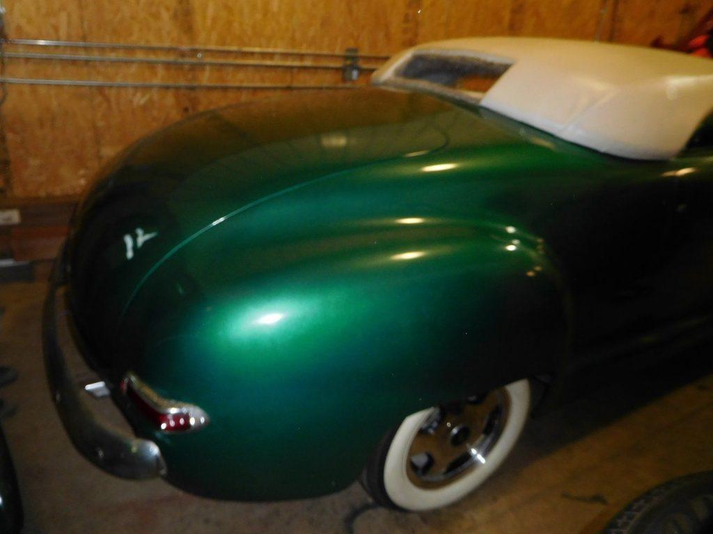 chopped 1948 Dodge hot rod