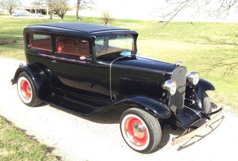 high end Build 1931 Chevrolet 2 door sedan hot rod for sale