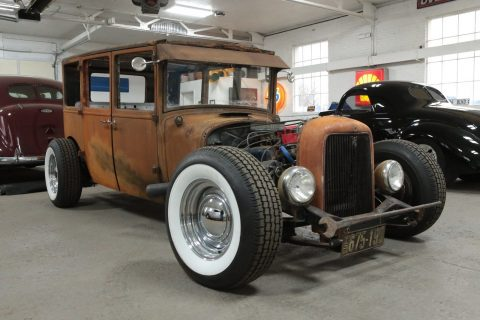 lowered 1926 Dodge Brothers Sedan hot rod for sale