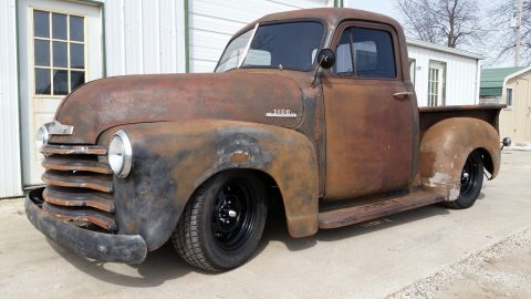lowered 1953 Chevrolet Pickup hot rod for sale