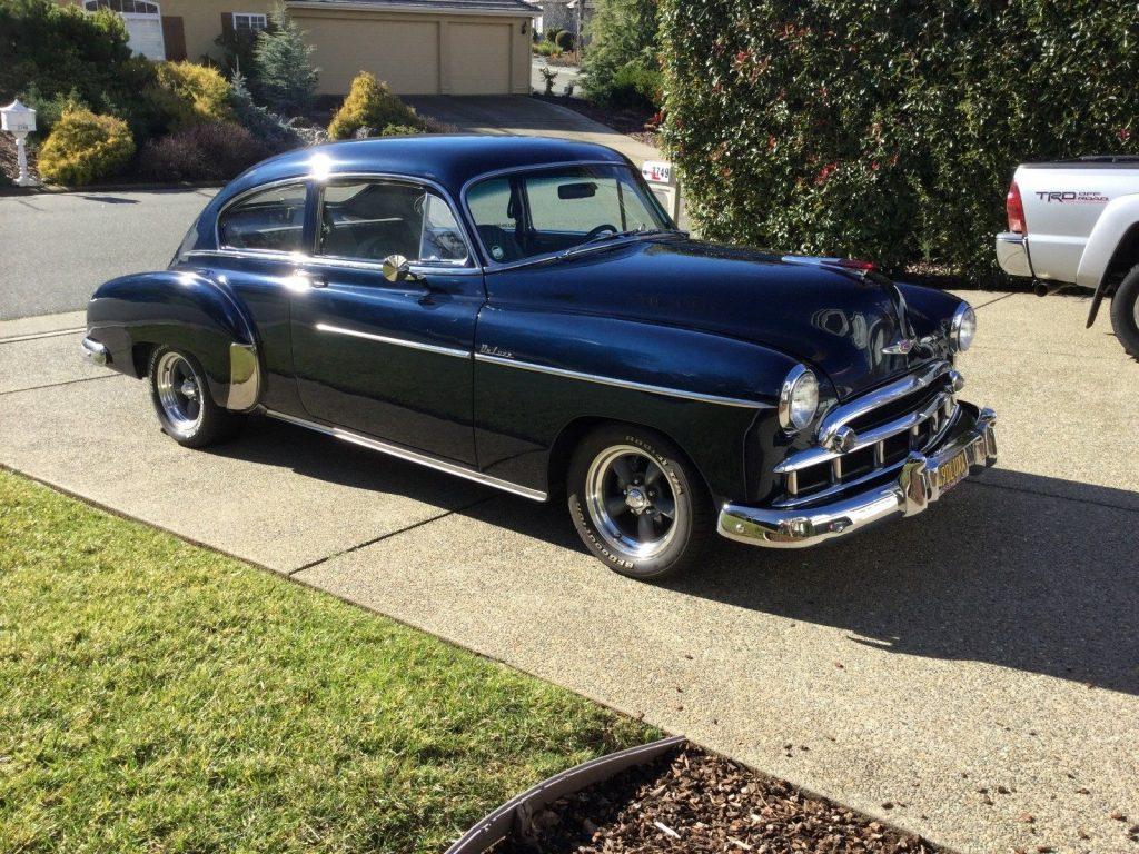 newer small block 1949 Chevrolet Fleetline Deluxe hot rod