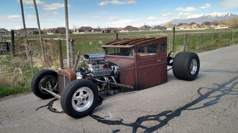Rustic Patina 1928 Chevrolet Pickup hot rod for sale