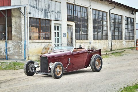 badass 1932 Ford Roadster Pickup hot rod for sale