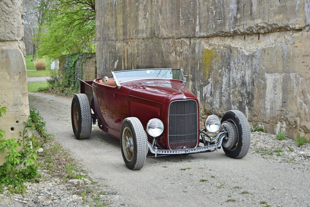 badass 1932 Ford Roadster Pickup hot rod