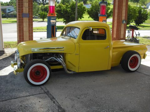 chopped 1950 Ford F 100 hot rod for sale