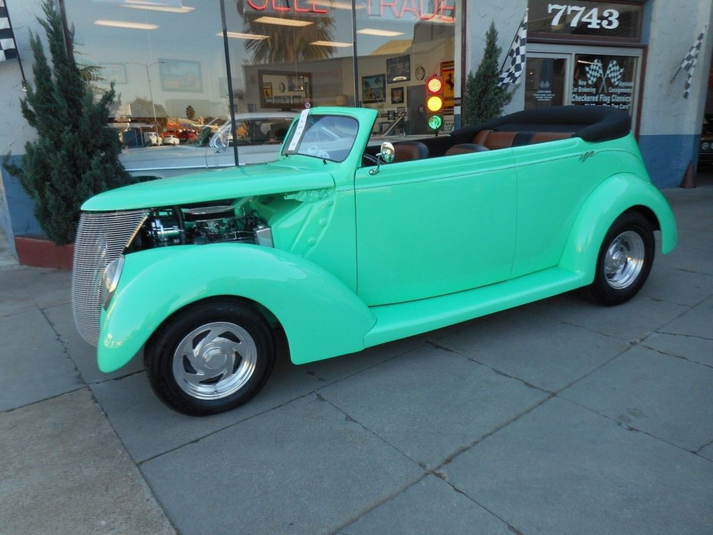 low miles 1937 Ford Phaeton hot rod
