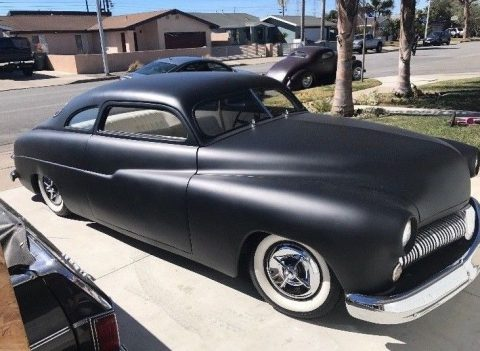 Lowered Custom 1949 Mercury hot rod for sale