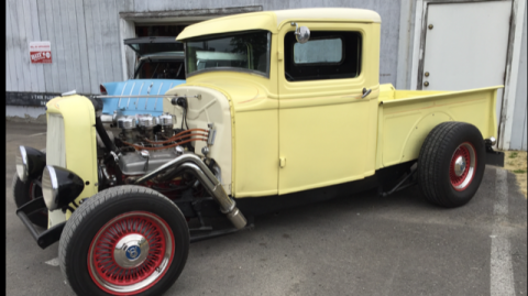 old school 1933 Ford 1/2 Ton Pickup hot rod for sale