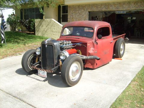 old school 1948 Ford Pickups hot rod for sale