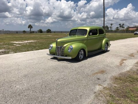 well built 1940 Ford Deluxe Deluxe hot rod for sale