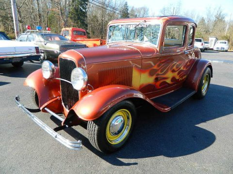Awesome Build 1932 Ford Model A 5 Window Steel Coupe hot rod for sale