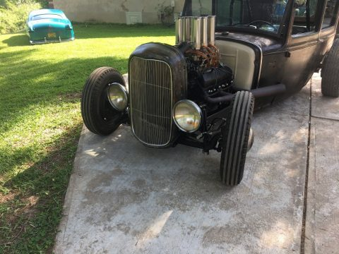 Cadillac engine 1931 Ford Model A hot rod for sale