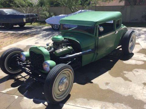 converted to coupe 1928 Ford Model A hot rod for sale