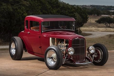 gentleman's hot rod 1931 Ford Model A custom hot rod for sale