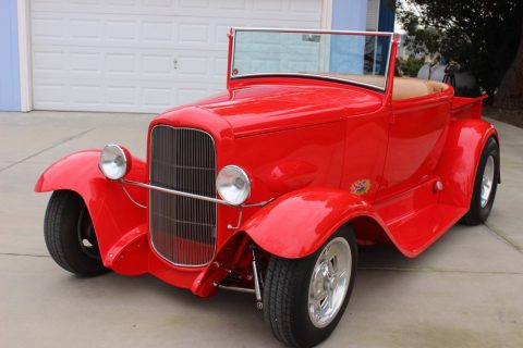 low miles 1931 Ford Model A Roadster Pickup hot rod for sale