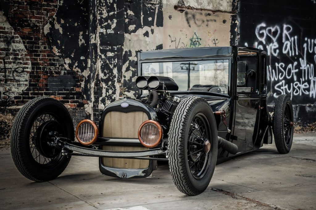 newly built 1927 Ford Model T Hot Rod