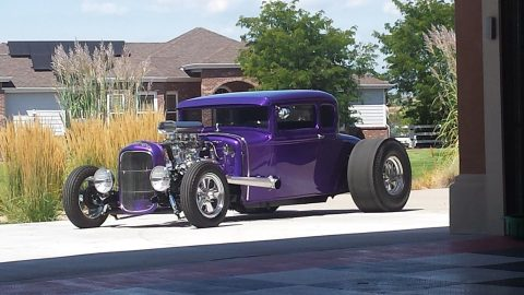 pro street custom 1930 Ford Model A hot rod for sale