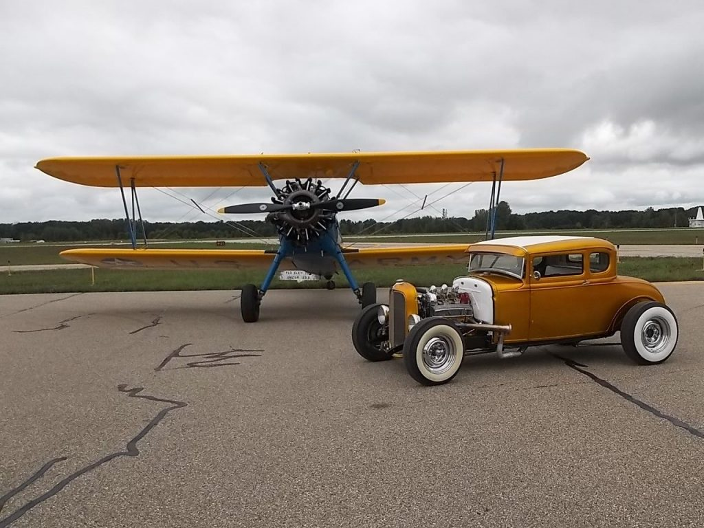 recently built 1930 Ford Model A Pagan gold hot rod