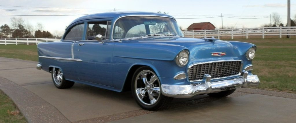 restomod 1955 Chevrolet Bel Air/150/210 210 hot rod