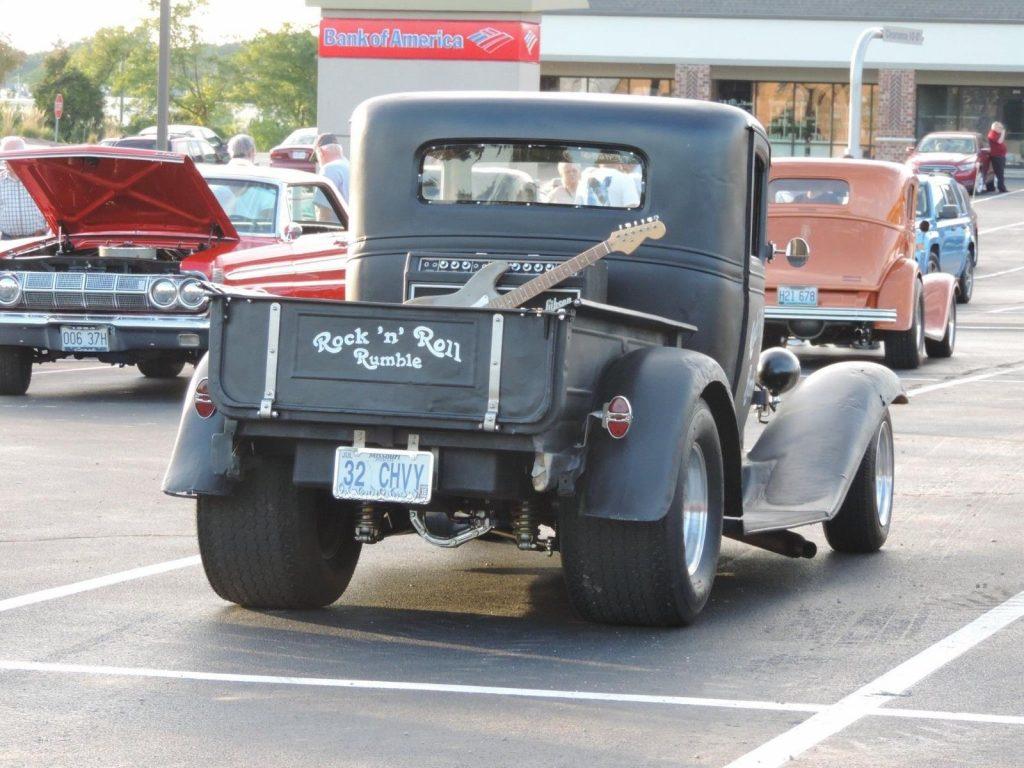small block 1932 Chevrolet Pickup hot rod