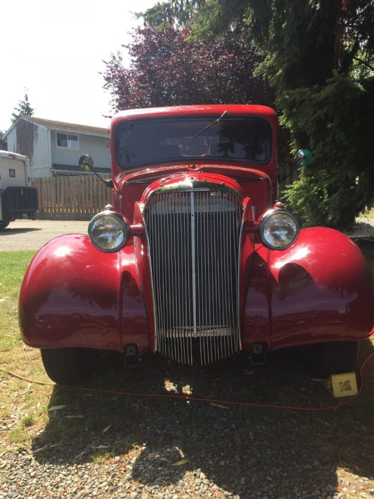 5 carbs 1937 Chevrolet Pickup hot rod