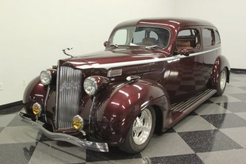 abosultely unique 1938 Packard Sedan hot rod for sale