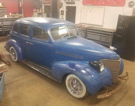 Bagged Suicide Door Sedan 1939 Chevrolet Master hot rod for sale