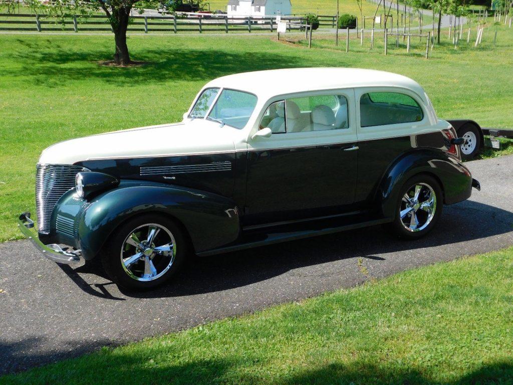 beautiful 1939 Chevrolet Master 85 Street Rod hot rod