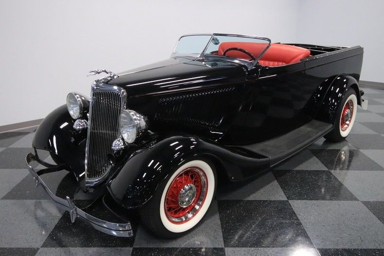 classic flathead 1934 Ford Ute Hot Rod