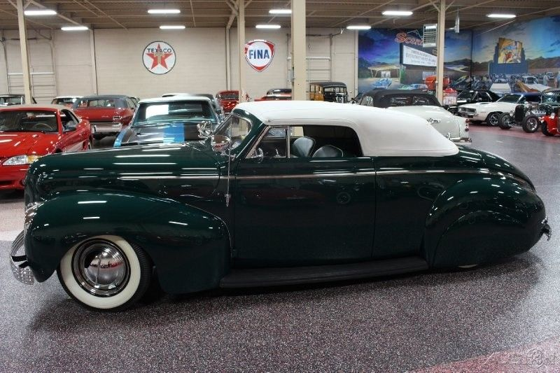 clean 1940 Mercury Hot Rod