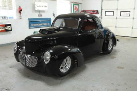 gasser 1940 Willys Custom Hemi Coupe hot rod for sale