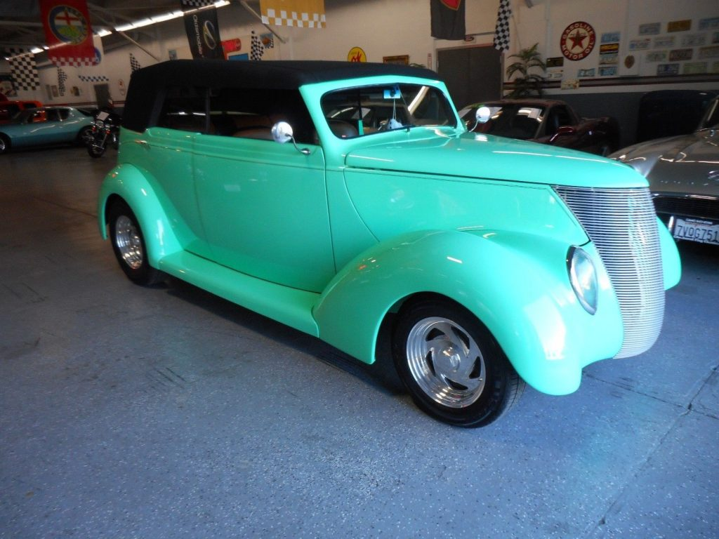 low miles 1937 Ford hot rod