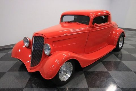 ready for cruising 1934 Ford Coupe hot rod for sale