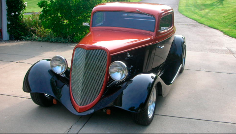 Recent Build 1934 Ford 3 Window Coupe hot rod for sale