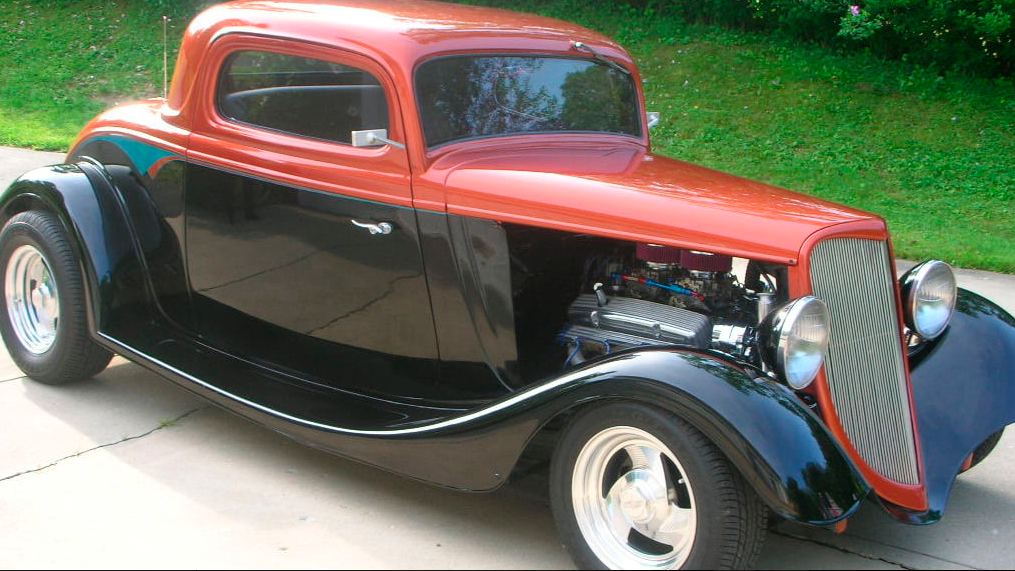 Recent Build 1934 Ford 3 Window Coupe hot rod