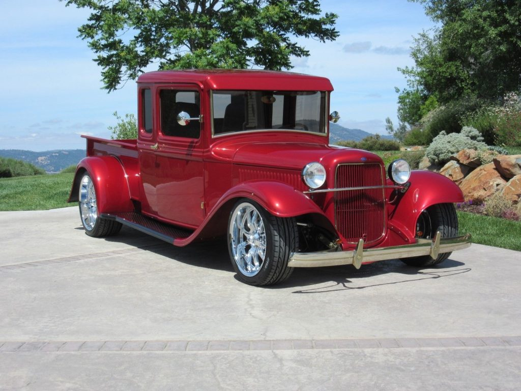 stroker powered 1934 Ford Pickups 1/2 Ton Pickup hot rod