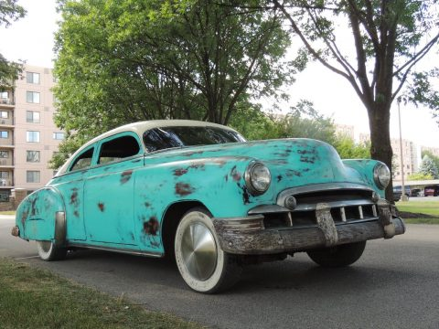 chopped 1949 Chevrolet Styleline Deluxe hot rod for sale