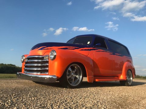 extremely well built 1950 Chevrolet Suburban hot rod for sale