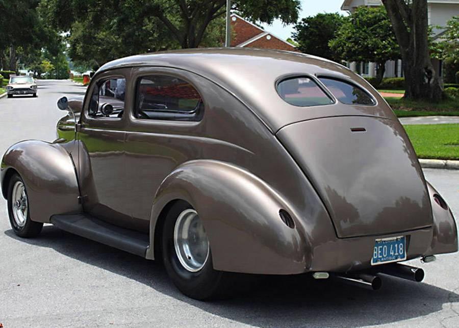 nicely customized 1940 Ford Tudor Sedan hot rod