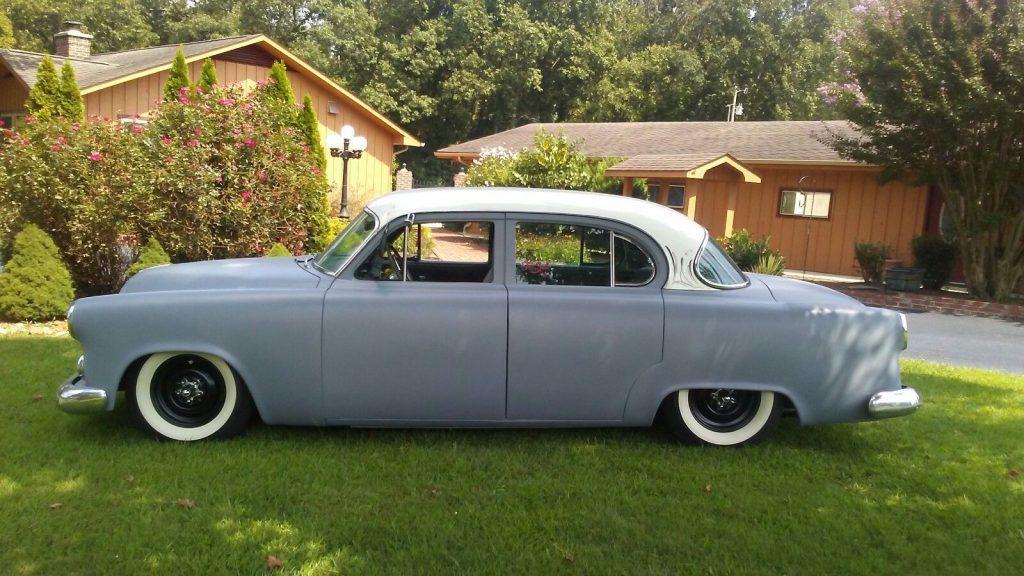 nicely customized 1953 Dodge Coronet hot rod