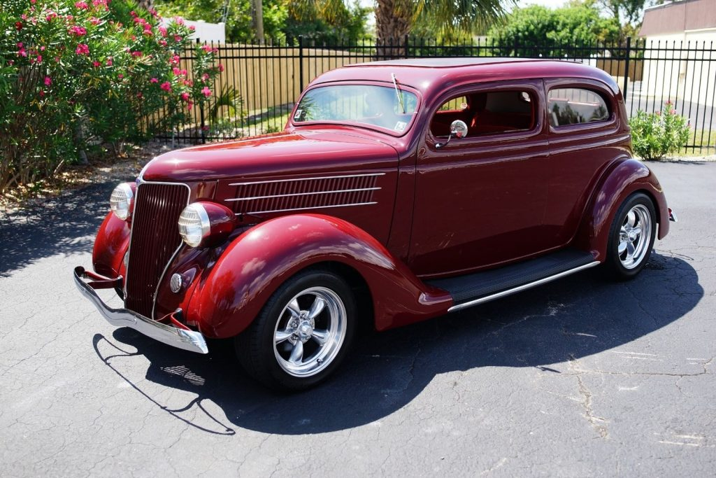 nicely modified 1936 Ford Hot Rod