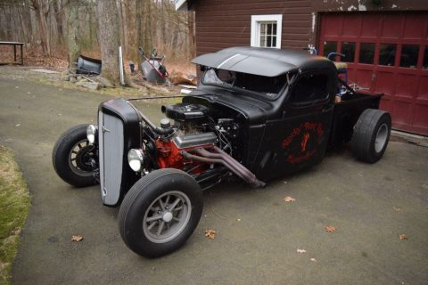 old school 1936 Chevrolet hot rod for sale