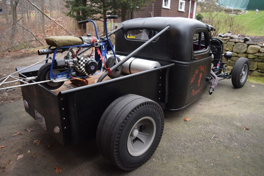 old school 1936 Chevrolet hot rod