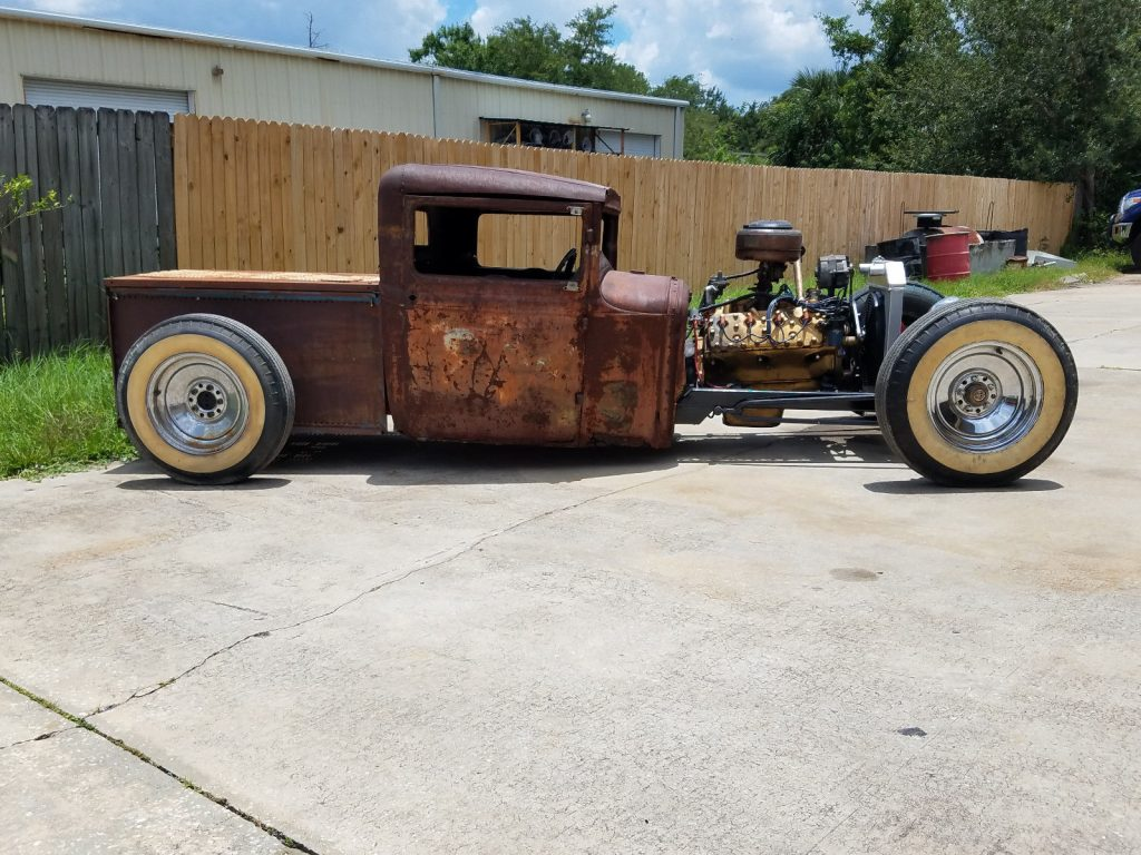 patina 1930 Ford Model A truck hot rod