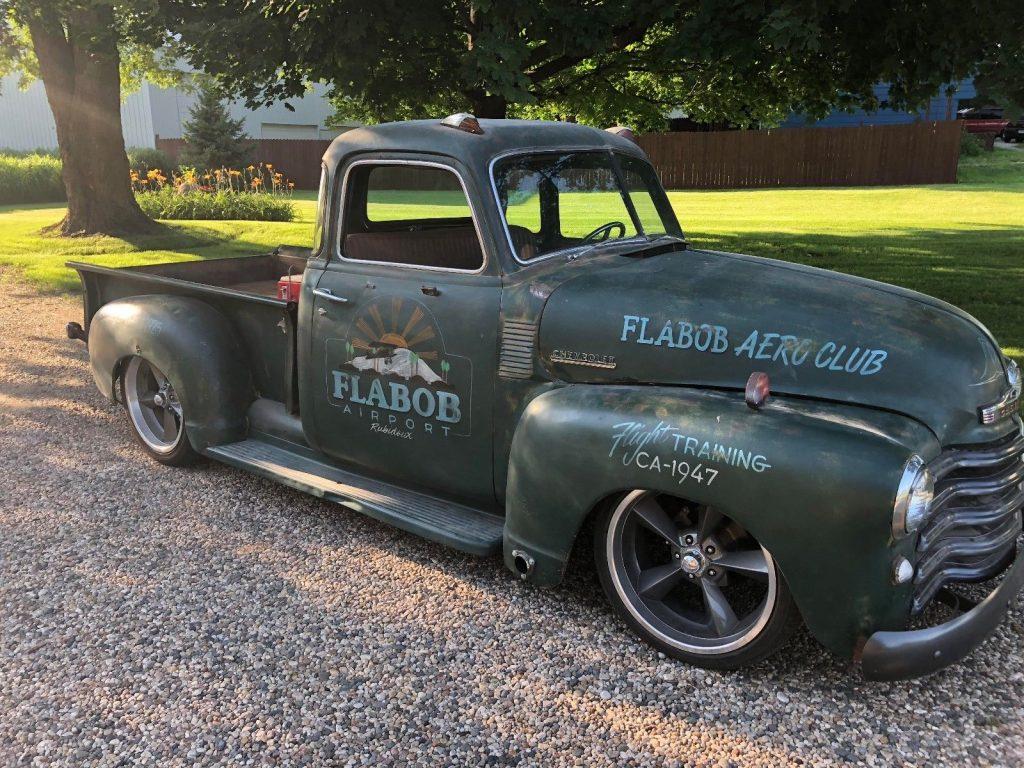 patina 1947 Chevrolet Pickups Standard hot rod