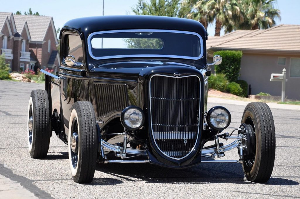 shiny 1936 Ford Pickups Hot Rod