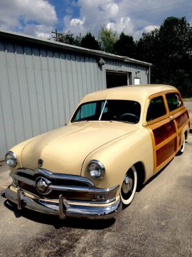 surfer`s rod 1950 Ford Ranch Wagon Restored hot rod for sale