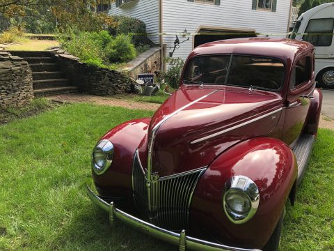 Absolutely Beautiful 1940 Ford Tudor hot rod for sale