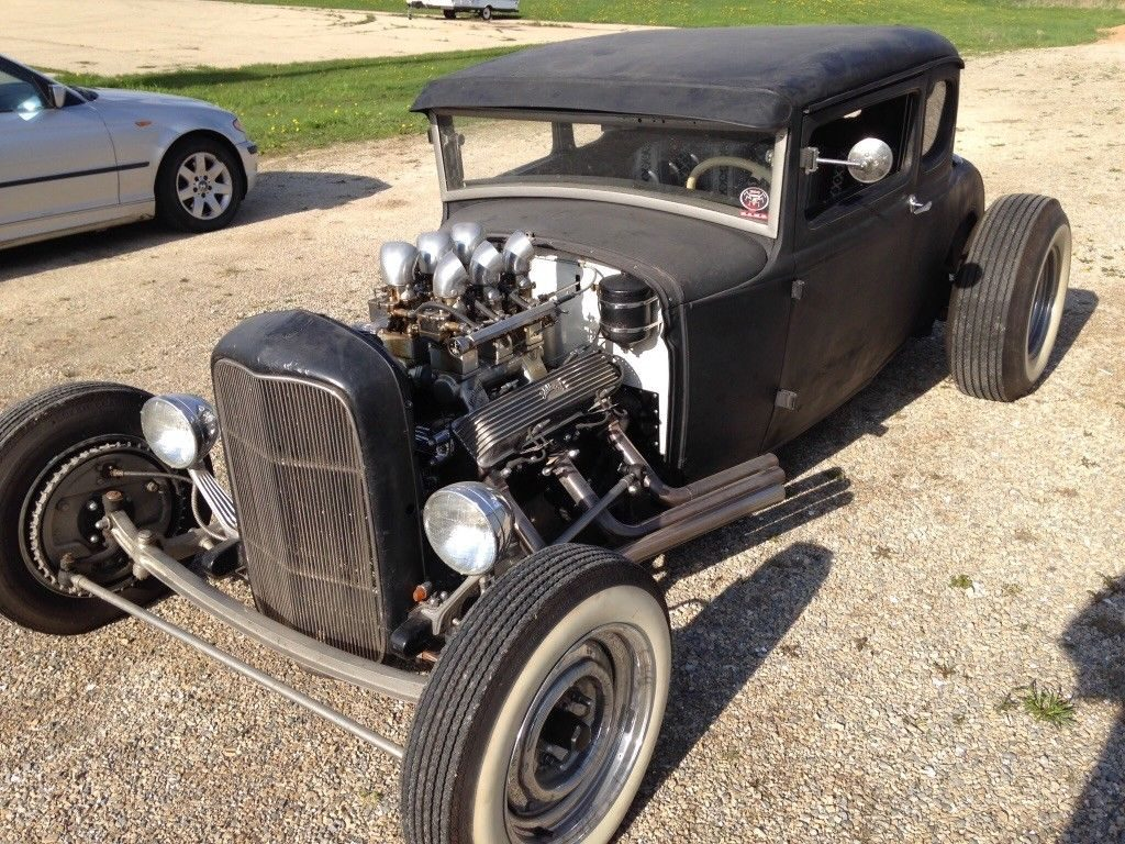 Cadillac powered 1930 Ford Model A hot rod