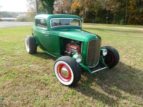 chopped 1932 Ford Ford hot rod for sale
